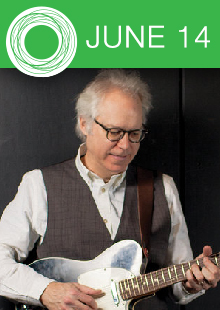 KUAF Jazz Summer Concert Series:</br> Bill Frisell Trio </br>featuring Thomas Morgan & Rudy Royston