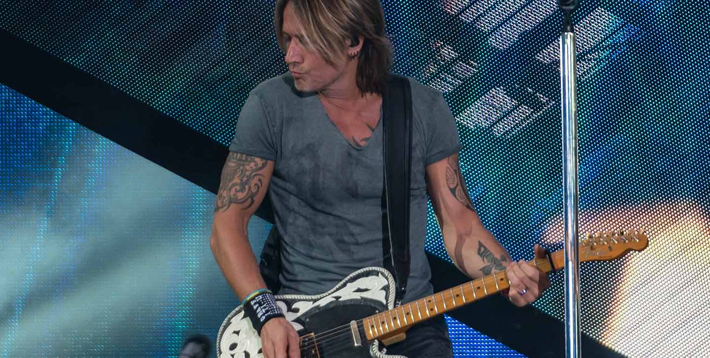 Keith Urban concert photo 1