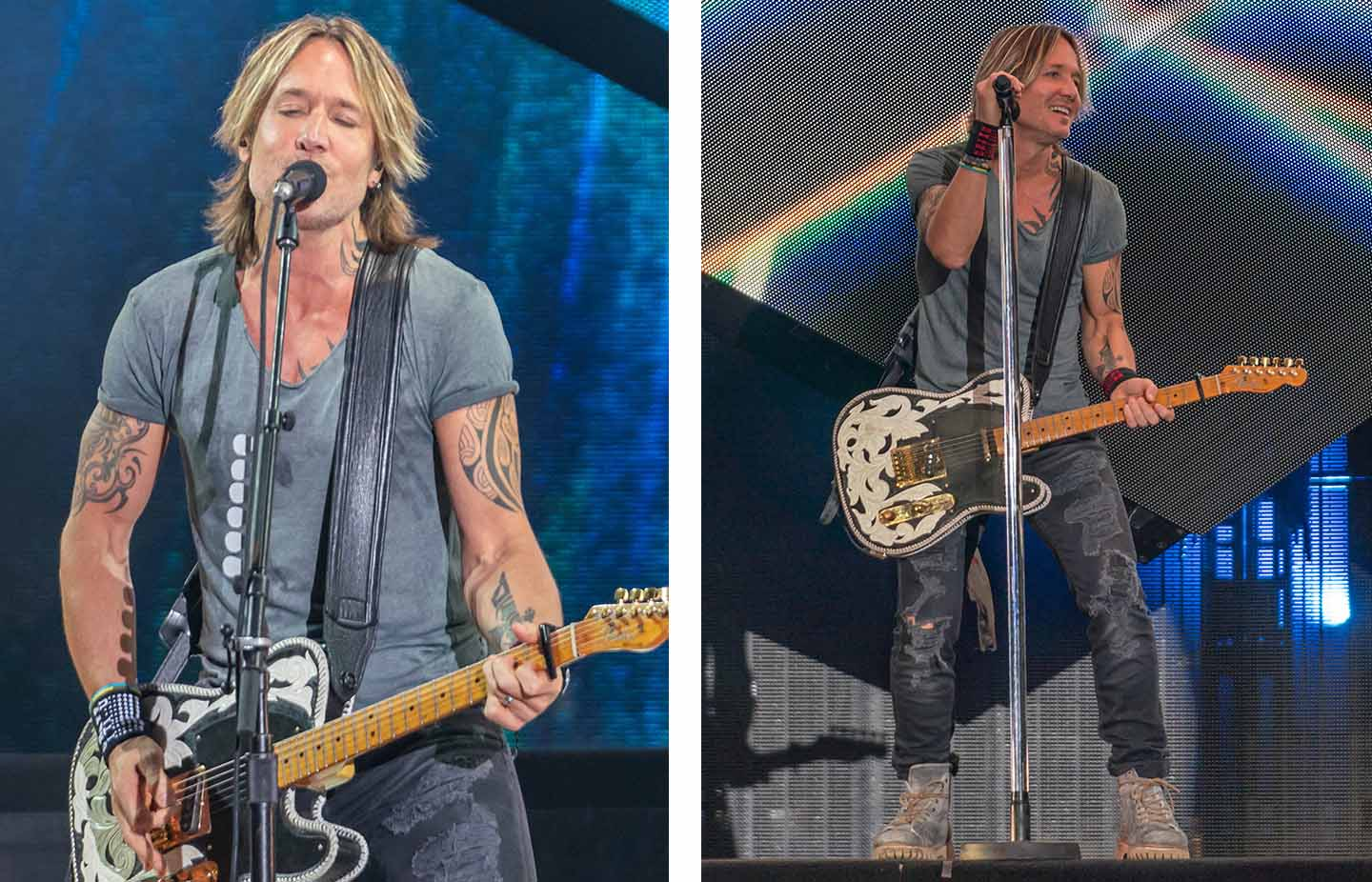 Keith Urban concert photo 2