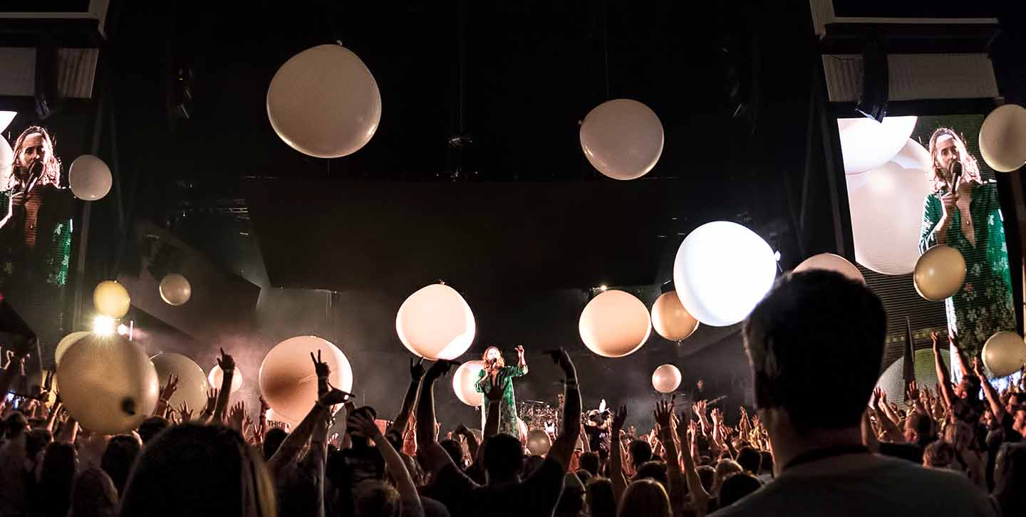 30 Seconds to Mars concert image 2