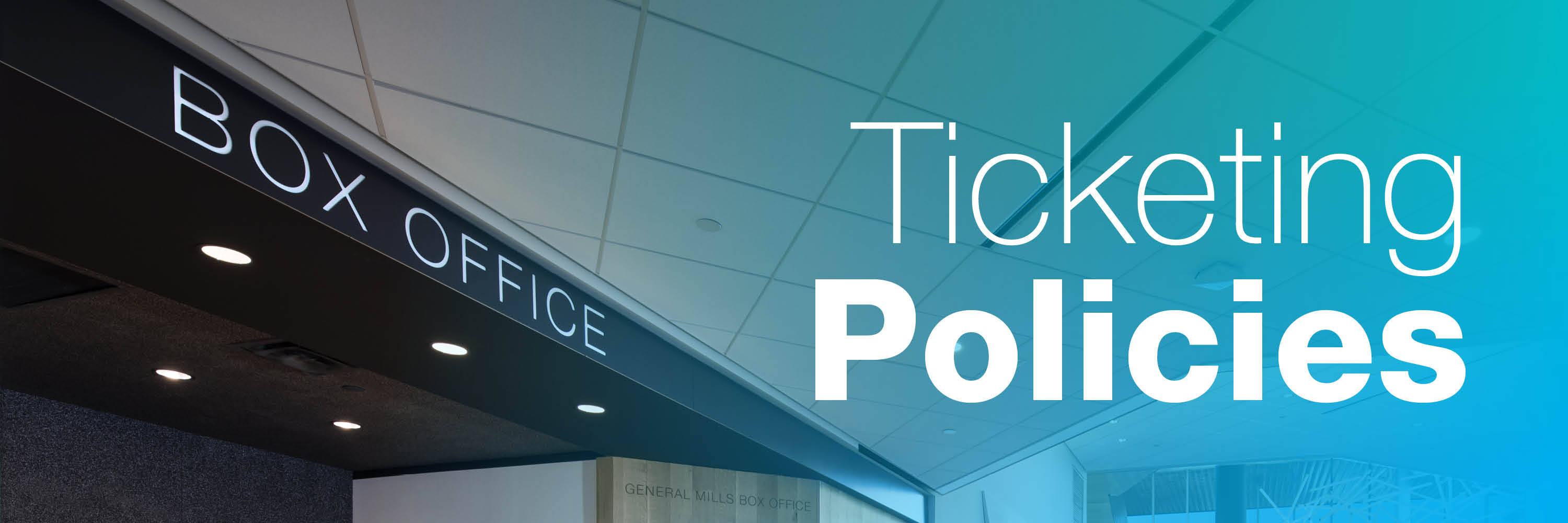 Ticketing Policies